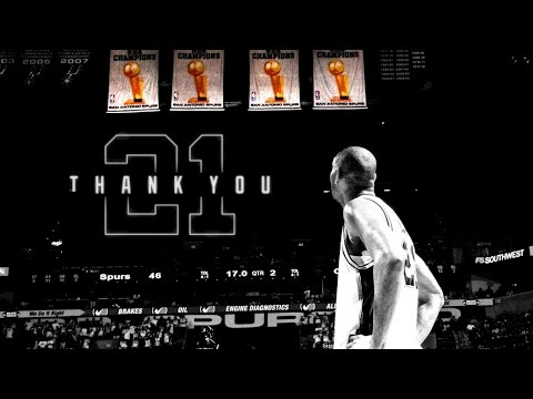 Forever A Legend - Tim Duncan Tribute