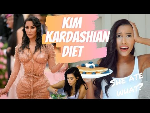 I TRIED KIM KARDASHIAN'S DIET FOR 24 HOURS AND THIS IS WHAT HAPPENED! thumbnail