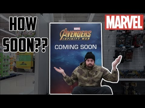 EPISODE 55  TOY HUNTING FOR MARVEL LEGENDS INFINITY WAR AND DEADPOOL WAVE!! NEW MERCH AVAILABLE!