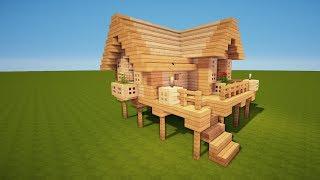 Download Minecraft Leichtes Haus Bauen Videos Dcyoutube - Minecraft grobes mittelalter haus bauen