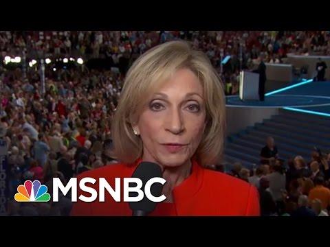 Andrea Mitchell On Historic Nomination Of Hillary Clinton  MSNBC