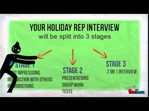 Holiday Rep Interview Hints and Tips