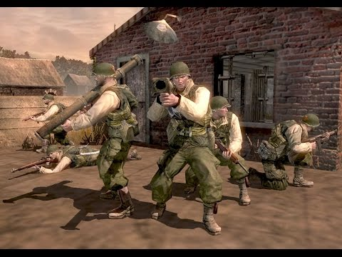 COH1 - Europe at War mod |EaW| - U.S Rangers in Action