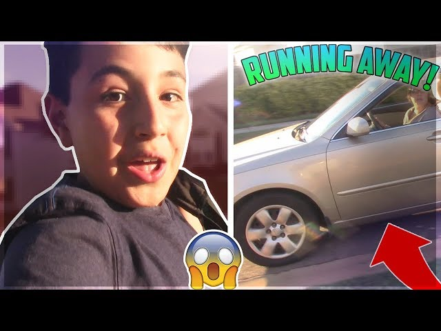 KID RUNS AWAY PRANK ON MOM! (SHE FREAKED OUT!)