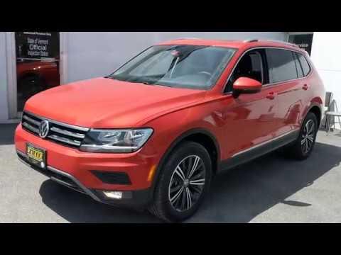 Habanero Orange 2019 VW TIguan SEL 4Motion (Walker VW)