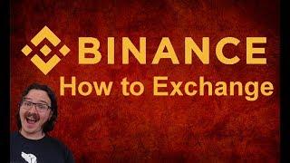 Binance / BNB - How to use an exchange tutorial
