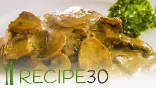 Steak Diane Recipe With Mushroom Sauce - Recipe30