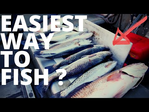 How To Catch Redfish And Trout EASY WAY! Fishing Florida. Fishing Jacksonville Florida.