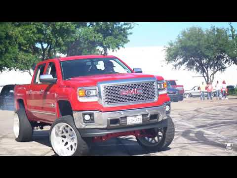 The Second TRUCK PERFORMANCE MEET In DALLAS Texas And It Got WILD! Foot Races, Donuts, & Close Calls