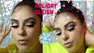 SLEIGH 🛷 SERIES❄️ easy Holiday Makeup |CANVAS BEAUTY