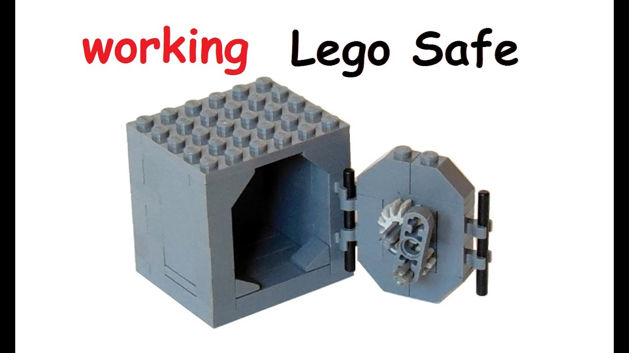 Gut gemocht How to build a working Lego Safe - YouTube LN56