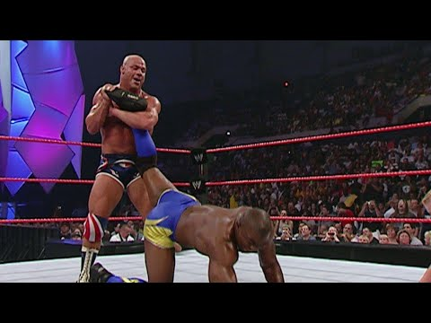 Kurt Angle vs Shelton Benjamin 8/22/05