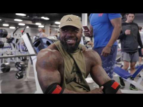 Weight down, still strong.  They hate, we lift | Mike Rashid