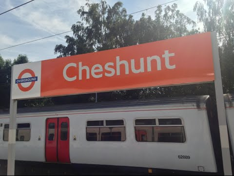 Full Journey on London Overground (Class 317) from Cheshunt to Liverpool Street (via Seven Sisters)