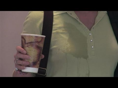 How to wipe coffee stains from clothes youtube for How to get a coffee stain out of a shirt