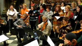 Kantiléna (Mixed choir) - All Souls Day concert rehearsal 2009 Pt. 8