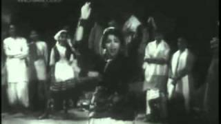 Kateya Karoon Teri Roon- Original Song- Nishi as performer, Shamshad Begum as singer