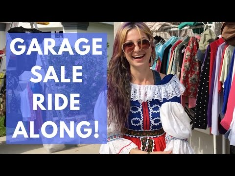 Garage sale ride along - eBay / Amazon sourcing - Vintage Electronics & More! | RYAN ROOTS