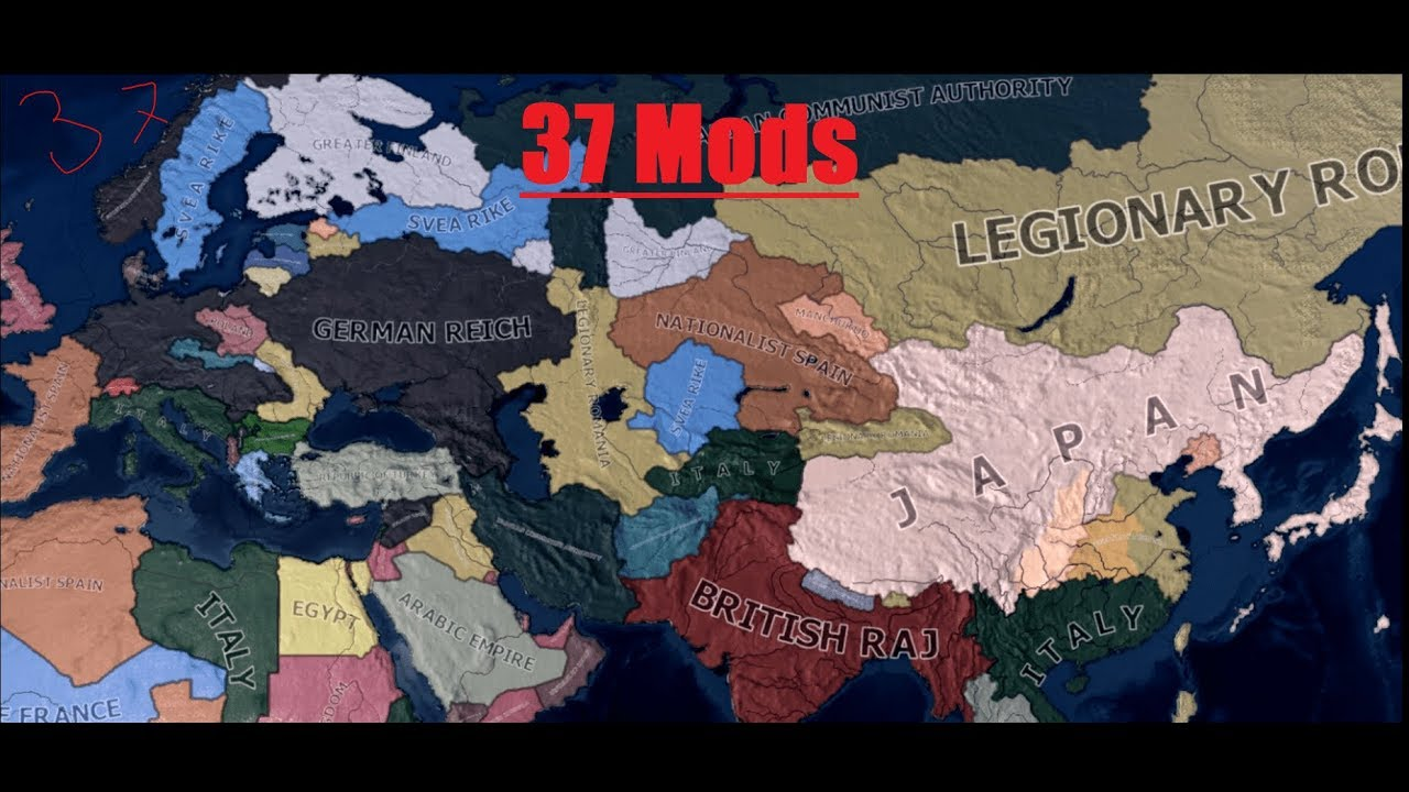 Does 37 Mods improve the game experience? [HOI4]