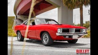 1973 Plymouth Barracuda Test Drive / Walk Around