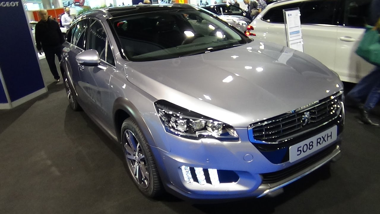 2017 Peugeot 508 Rxh Exterior And Interior Zurich Car Show 2016