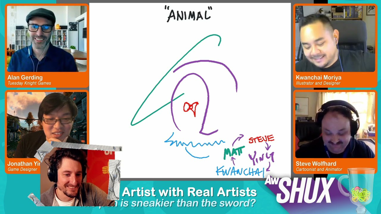 Fake Artist with Real Artists - AwSHUX 2020