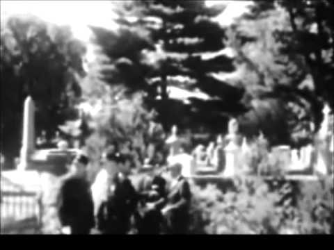 August 10, 1963 - The Funeral of Patrick Bouvier Kennedy at Holyhood  Cemetery, Brookline, Mass