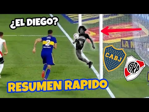 Boca Juniors (1) - River Plate (1) RESUMEN RÁPIDO - COMPLETO - GOLES