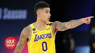 Dion waiters and kyle kuzma impressed me in lakers vs. clippers - dave mcmenamin | golic wingo