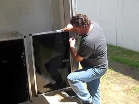 stacker build single door kit midwest race cabinets - youtube