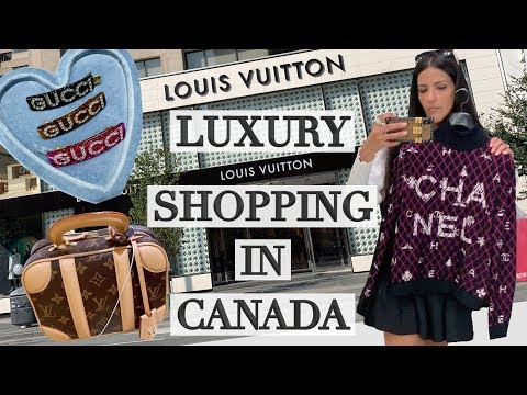 Luxury Shopping In Toronto: Hottest Louis Vuitton  & Chanel Bags! Ericas Girly World