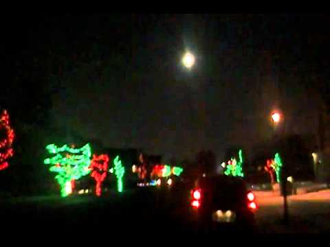 Crazy Christmas Light Display in Lochsa Falls in Meridian, ID. - YouTube