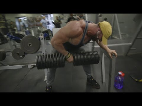 BIGGEST DUMBBELL IN THE WORLD | 375LB ROW