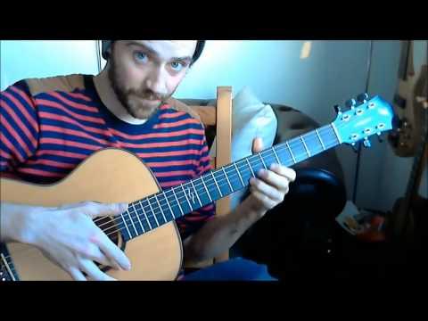 Newton Faulkner / Massive Attack - Teardrop Guitar Tutorial