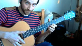 Newton Faulkner / Massive Attack - Teardrop Guitar Tutorial