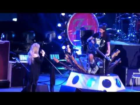 Foo Fighters, Stevie Nicks, Haim - STOP DRAGGIN' MY HEART AROUND @ The Forum L.A. 09-21-15