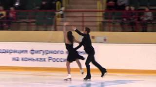 ISU CS Mordovian Ornament 2015  Ice Dance  КП 3 E  ILINYKH  R  ZHIGANSHIN RUS