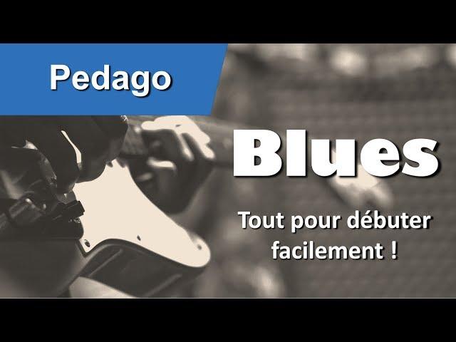 Les bases du blues a la guitare tuto facile débutant