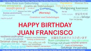 JuanFrancisco   Languages Idiomas - Happy Birthday