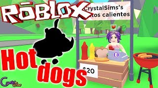 NEW HOT DOGS AND MORE JUNGLA PETS ? ADOPT ME ROBLOX CRYSTALSIMS