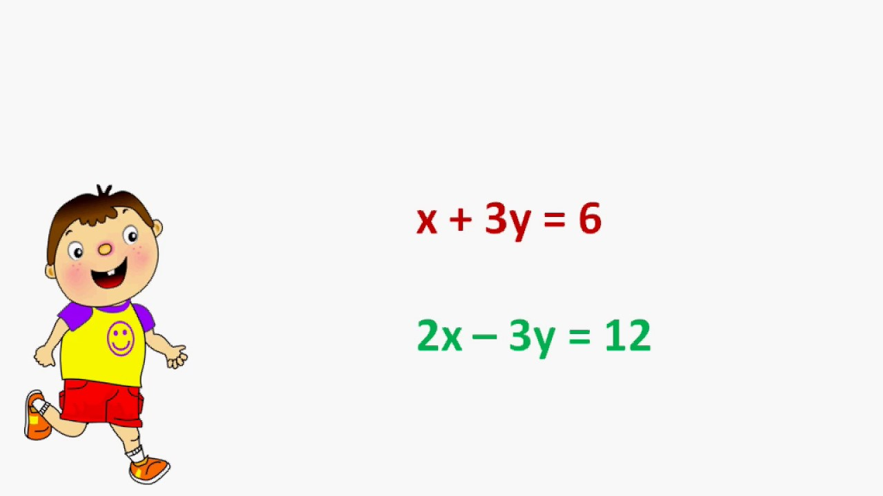 Maths - Graphical method I - Pair of linear equations in two variables -  Part 5 - English