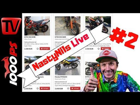 NastyNils Live #2 - Motorrad Beratung und Studie: Welche Kekse essen Biker?
