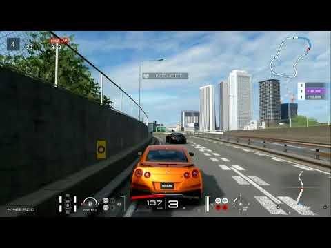 Gran Turismo Sport - Nissan GT-R 2017 Gameplay @ Tokyo Expressway