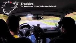 Nürburgring Nordschleife mit Erklärungen zu Streckenabschnitten
