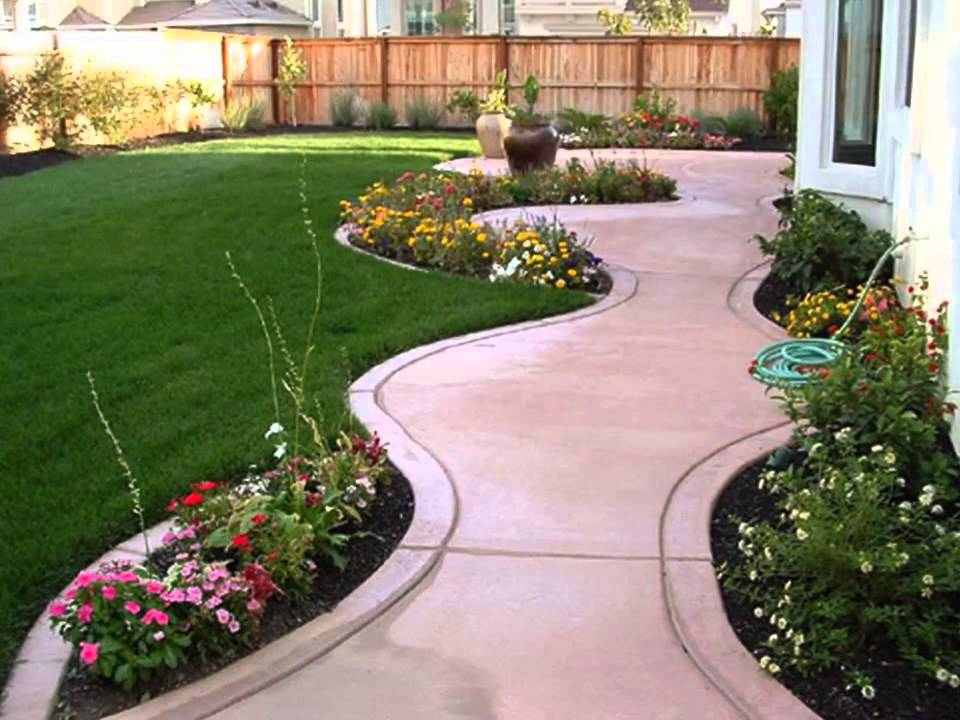 Small backyard ideas small backyard ideas pinterest - YouTube on Small Yard Landscaping Ideas id=74696