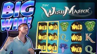 BIG WIN!!! Wish Master BIG WIN!! Online Casino slot from CasinoDaddy Live Stream