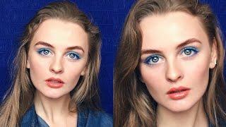 Модный Макияж на Каждый День, Тренды Весна-Лето 2016(Модный весенний макияж на каждый день! В этом видео я покажу яркий трендовый повседневный макияж весна..., 2016-02-29T09:19:35.000Z)