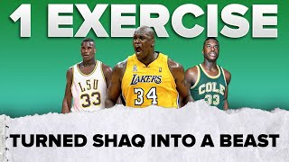 1 exercise turned Shaq into a BEAST 💪🏽 | #shorts