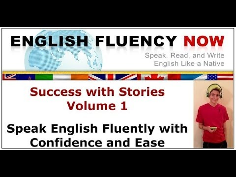 Speaking English Fluency Success With Stories | English