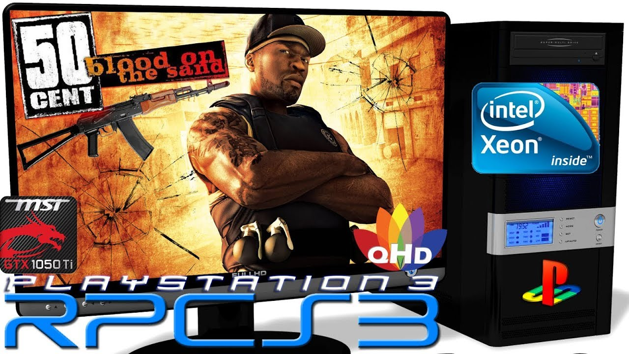 Rpcs3 0 0 6 Ps3 Emulator 50 Cent Blood On The Sand Gameplay